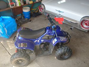 110cc childrens gas quad for Sale in Westerville, OH