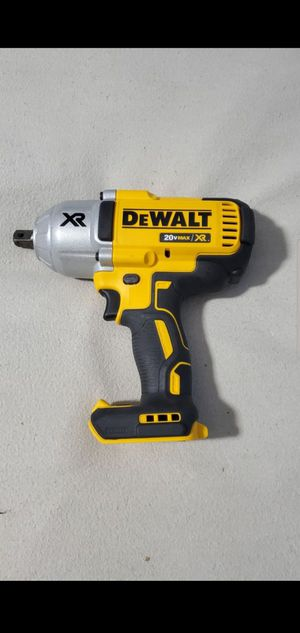 Dewalt 20V Max XR Brushless 1/2in High Torque Impact Wrench. Model Dcf899. Tool only for Sale in Plainfield, IN