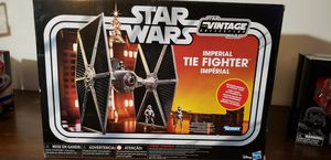 New Vintage Star Wars Tie Fighter with Fighter Pilot Figure. for Sale in Orlando, FL