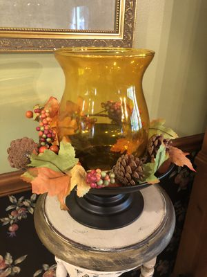 Harvest Fall Candle Holder for Sale in Aurora, IL