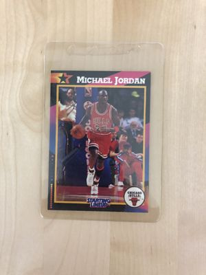 Jordan vintage starting lineup 92' collectible card for Sale in Los Angeles, CA