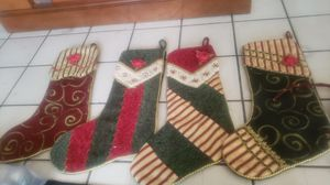Stockings, Tree Skirt, Tree Decoration for Sale in Long Beach, CA