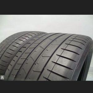 Pair Pirelli Pzero Run Flat 315 35 21 with 85% Tread 7/32's 111Y #7196 for Sale in Miami, FL