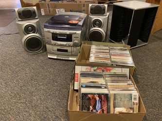 CD player and CD's with Stand for Sale in Silver Spring,  MD