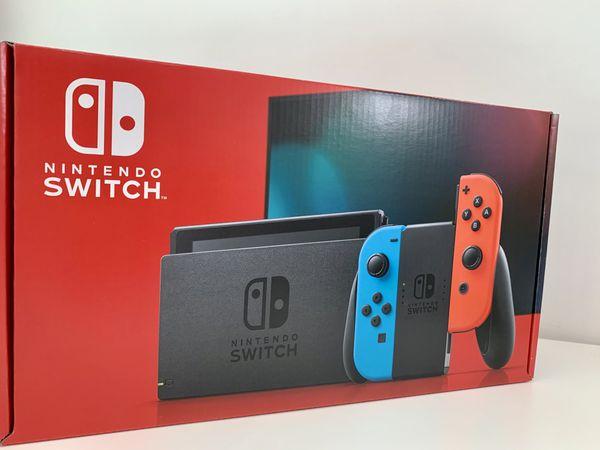 Nintendo Switch (Brand New Unopened)