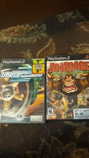Ps2 video games for Sale in Bakersfield, CA