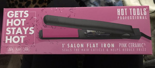Hot tools ceramic straightener NEW IN BOX hair