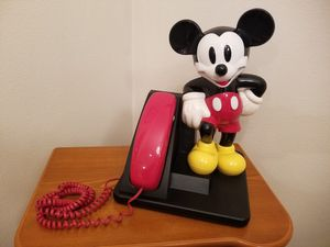 Vintage MICKEY MOUSE telephone for Sale in Everett, WA