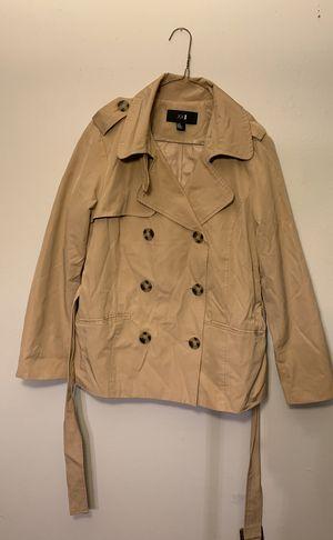 Tan trench raincoat for Sale in Alexandria, VA