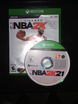 2k21 current gen for xbox 1 for Sale in Portland,  OR