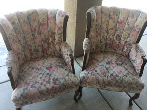 Chairs, Wingback Set for Sale in Hanford, CA
