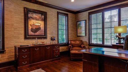 Elegant Executive Desk & Credenza - Chestnut Brown for Sale in Havertown,  PA