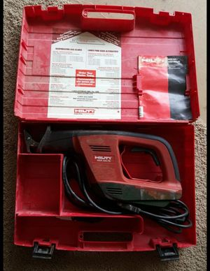 HILTI powertools reciprocating saw for Sale in Avondale, AZ