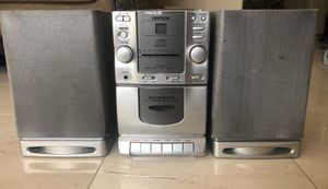 CD, Tape, and Radio Player with Speakers for Sale in Calabasas, CA