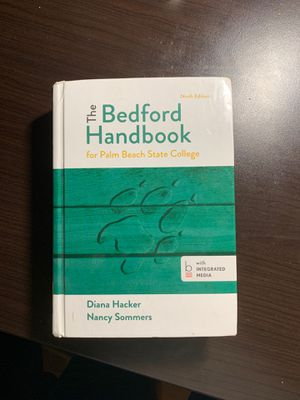 The Bedford Handbook 9th edition for Sale in Port St. Lucie, FL