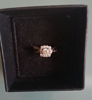 Rose Gold Diamond Engagement Ring 3/4 Carat Size 4 for Sale in Peoria, AZ