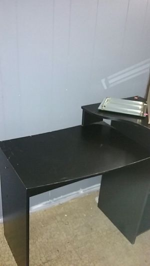 Desk Black for Sale in St. Louis, MO