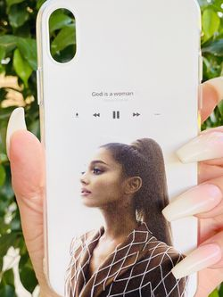 Brand new cool iphone XR case cover silicone rubber Ariana Grande for Sale in Loma Linda,  CA