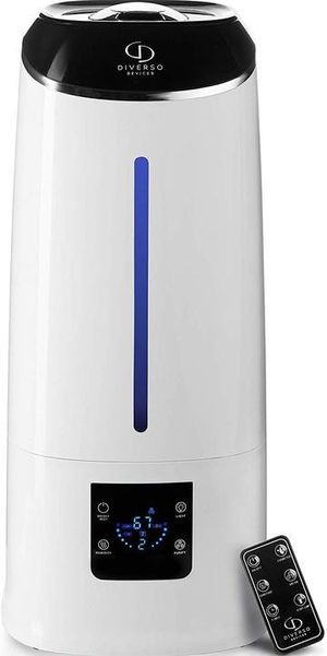 Humidifier | Cool Mist Humidifier | Air Humidifier | Humidifiers for Bedroom | Baby Vaporizer Room Humidifier | Home Ultrasonic for Sale in Ontario, CA