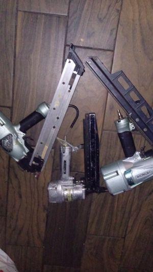 Hatachi nail gun set for Sale in Seattle, WA