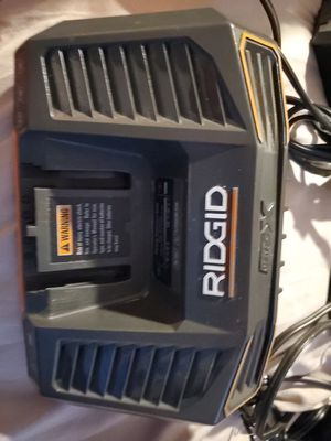 charger ridgid 18v brand new gen 5X for Sale in Grand Terrace, CA