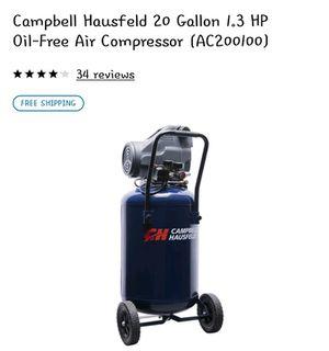 Campbell Hausfeld 20 Gallon Air Compressor for Sale in Peoria, AZ