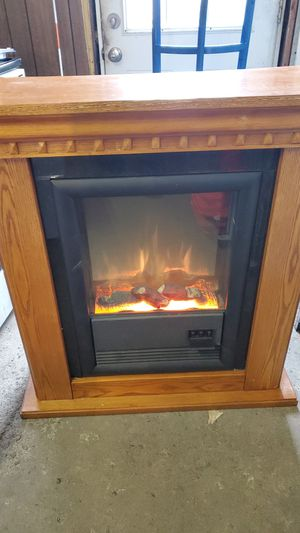 Electric fireplace heater for Sale in East Aurora, NY