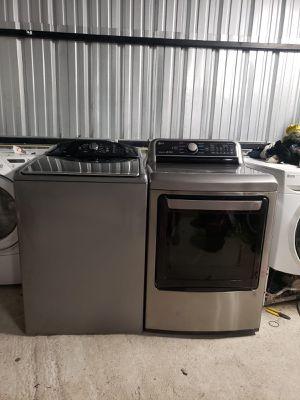 Washer and dryer GAS ‼️Lavadora y secador de gas for Sale in Houston, TX