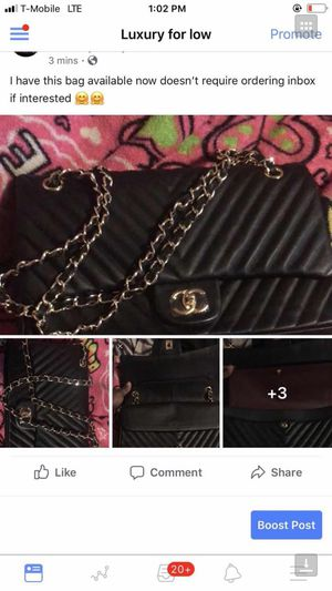 Double chain chanel bag for Sale in West Hartford, CT