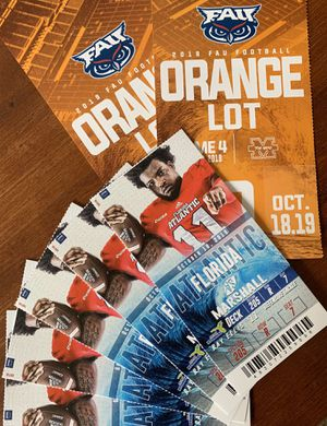 FAU vs. Marshall - Friday @ 6:30 for Sale in Coral Springs, FL