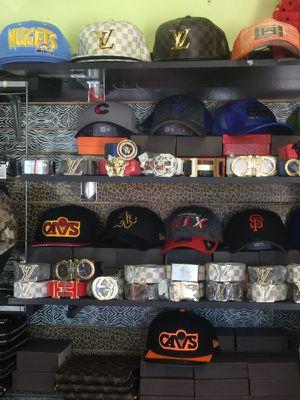 """Designer """"Belts, Hats, Wallets, Shoes"""" for Sale in Aurora, CO"""