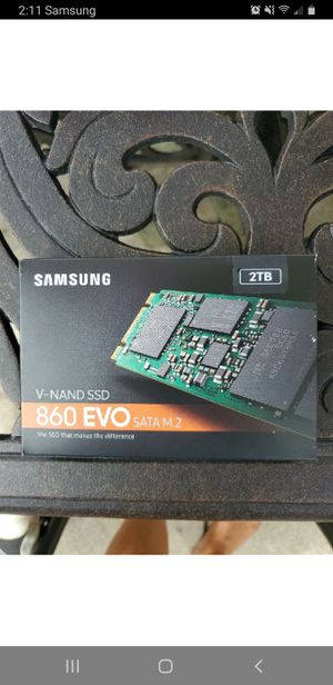 SAMSUNG SSD SATA M.2 - 2TB for Sale in Warwick, RI