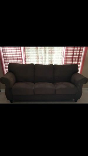 Beautiful brown sofa for Sale in Charlotte, NC