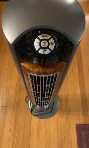 Like New: Lasko Wind Curve Tower Fan and Fresh Air Ionizer for Sale in Boston, MA