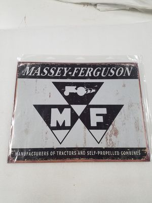 Massey Ferguson farm tractor logo metal sign for Sale in Vancouver, WA
