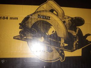 "DeWalt Circular Saw 7 1/4"" for Sale in Gibsonton, FL"