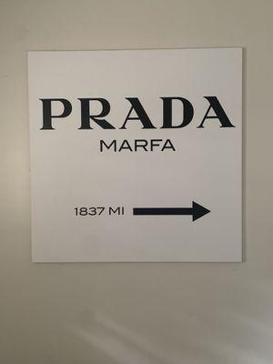 Prada Marfa canvas print for Sale in Houston, TX