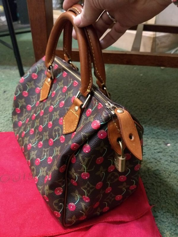 Authentic Louis Vuitton cherry handbag