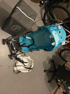 Pack-n-play, stroller and booster seat for Sale in Palm Harbor, FL