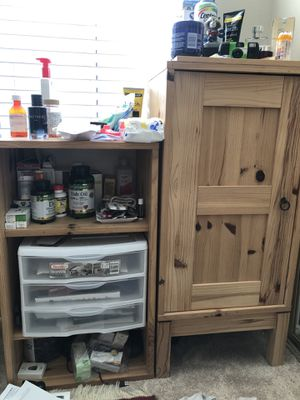 Night stand and shelf stands for Sale in Irvine, CA