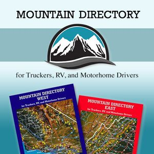 Mountain Directory: A Guide For Truckers,RV, and MotorHome Drivers for Sale in Miami, FL