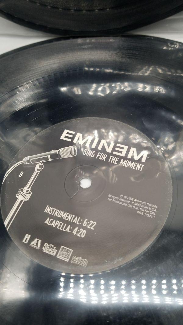 Hip hop vinyls