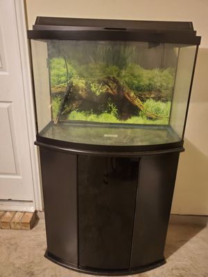 30' Bowfront Fish Tank for Sale in Princeton, TX