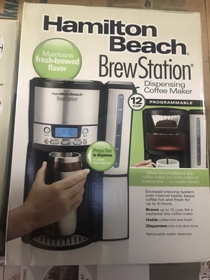 Hamilton Beach programmable coffee maker for Sale in Douglasville, GA