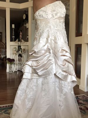 Champagne Wedding Dress for Sale in Vancouver, WA