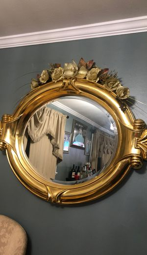 gold wall mirror for Sale in Huntington, NY
