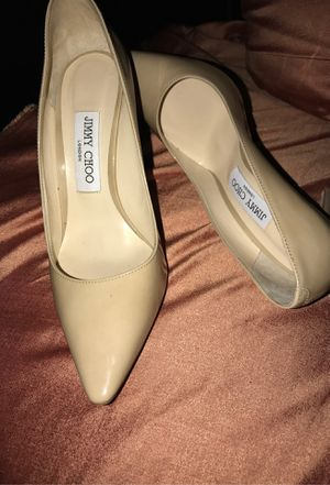 JIMMY CHOO POINT NUDE HEELS for Sale in Los Angeles, CA