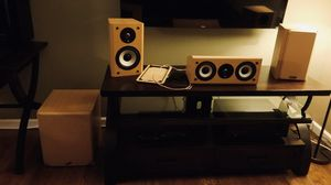 Axiom Audio 3.1 Speaker System w/ M3ti Bookshelf Speakers for Sale in Kent, WA