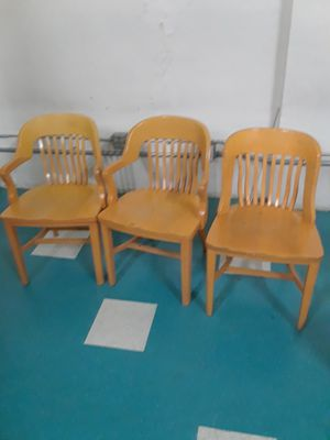 Sturdy oak antique collectible chairs for Sale in Denver, CO