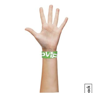 Green VIP Paper Wristbands, 500ct for Sale in Livonia, MI